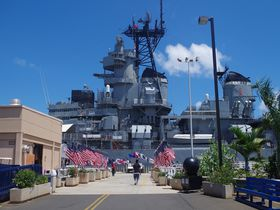 戦争を知る戦艦ミズーリが大迫力!ハワイ「パールハーバー・ヒストリック・サイト」