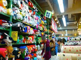 外国人観光客も注目!DIY・手芸愛好家の聖地「にっぽり繊維街」