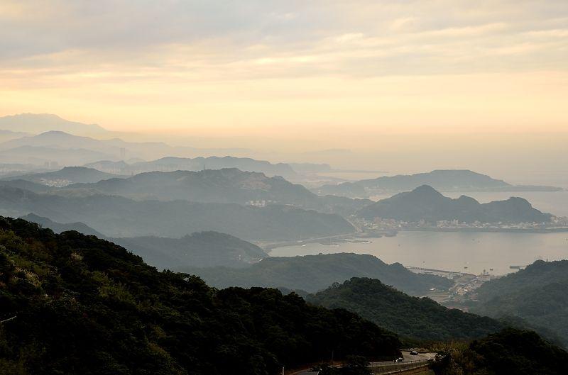 金鉱の町から見下ろす絶景