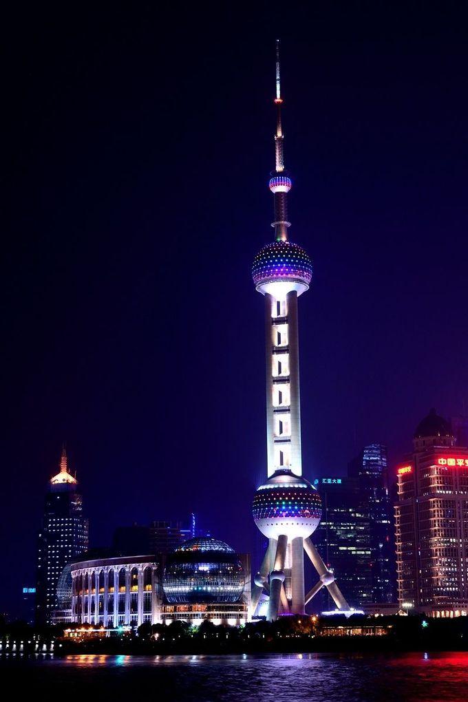 1.浦東地区の夜景(上海)