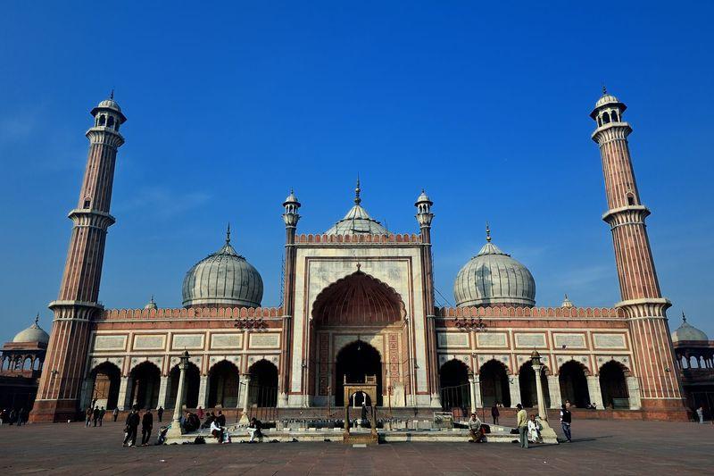 オールドデリーに聳えるインド最大のモスク!ジャーマー・マスジッドに圧倒される!