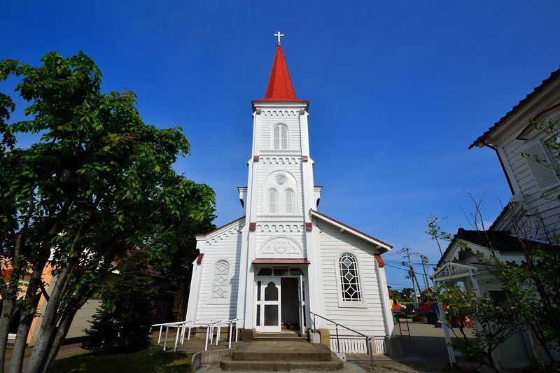 4.鶴岡カトリック教会 天主堂