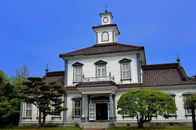 2.旧西田川郡役所(致道博物館内)