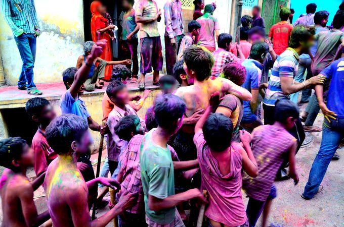 インド中が騒ぎ狂う日