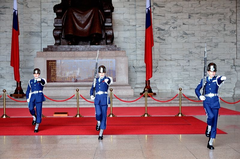 1日目・台北:中正紀念堂で衛兵交代儀式を見学