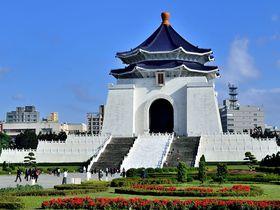 台湾3大観光名所!台北・中正紀念堂の美しさと迫力に圧倒される!