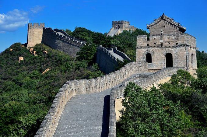 敵を監視するための砦「敵楼」