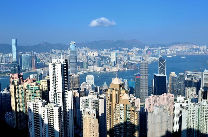 大都会を見下ろす絶景