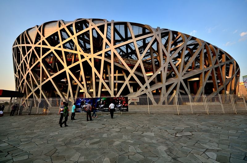 北京オリンピック開会式が行われた「鳥の巣」