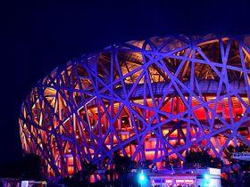 名言が生まれた場所!北京オリンピック公園のライトアップが何も言えないほど美しい!