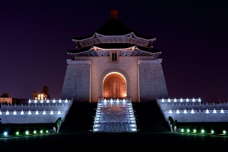 幻想的な中正紀念堂