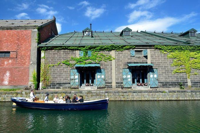 小樽運河クルーズも人気!