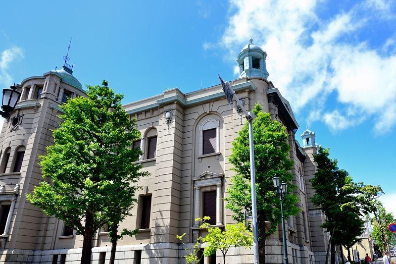 「北のウォール街」の主役「日本銀行旧小樽支店金融資料館」