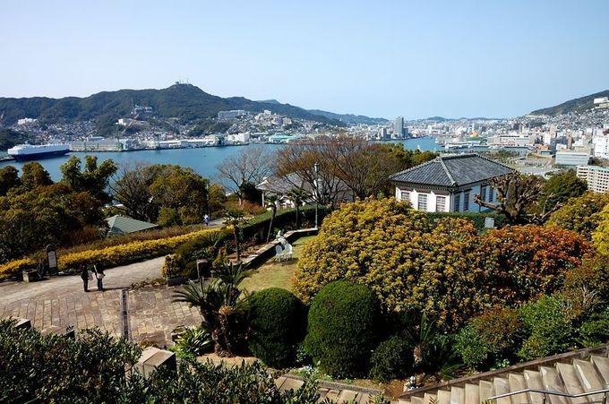 絶景を見下ろす丘に洋館が立ち並ぶ「グラバー園」
