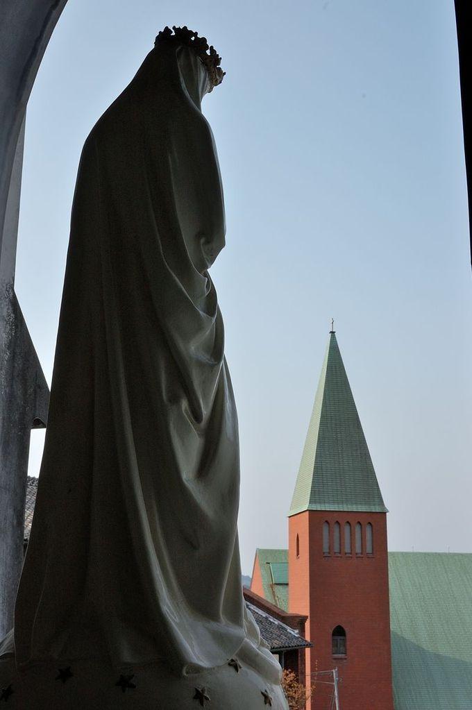 「信徒発見」を祝う「日本之聖母像」