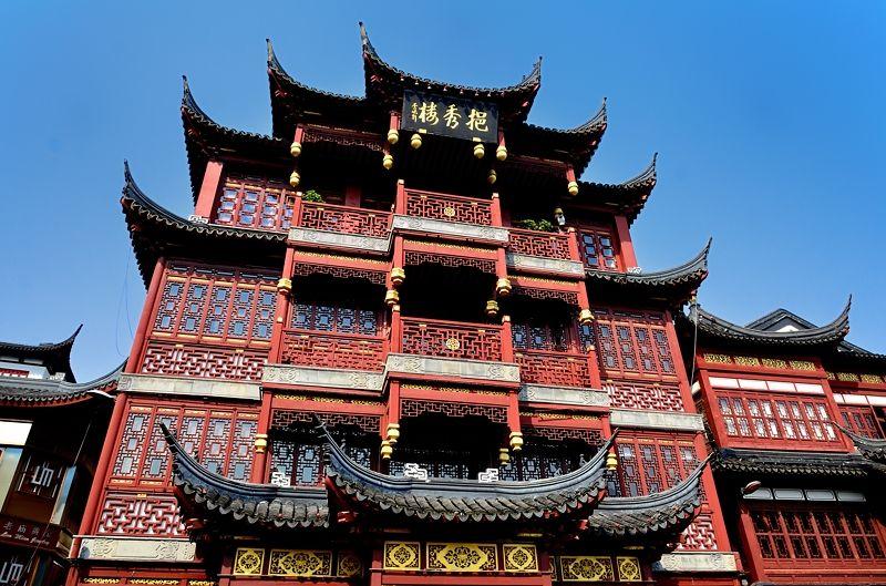 上海に残された古き良き中国!豫園(よえん)は上海を代表する観光名所!