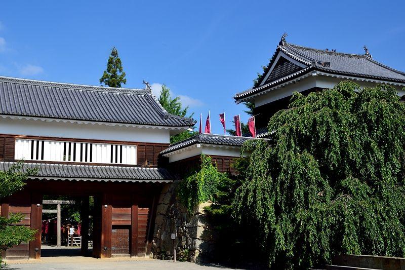 徳川の猛攻を退けた難攻不落の名城