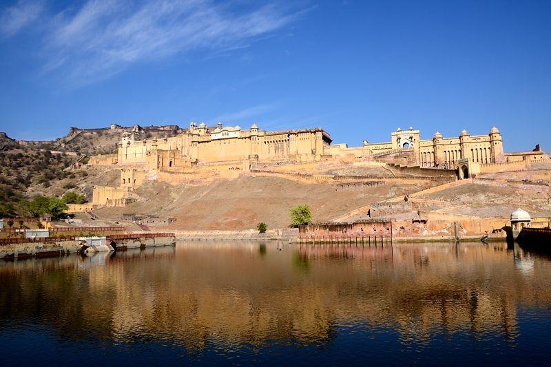 マハラジャの宮殿城塞「アンベール城」