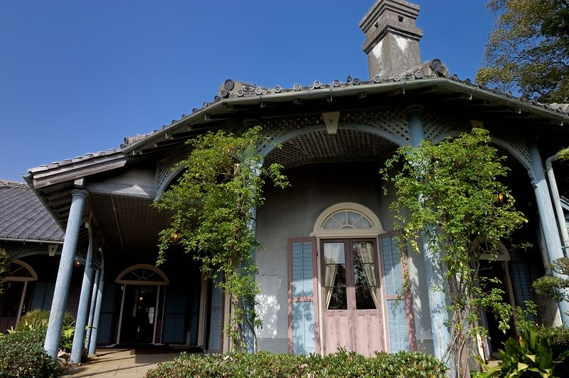 世界遺産に決定!日本最古の木造洋風住宅「旧グラバー住宅」