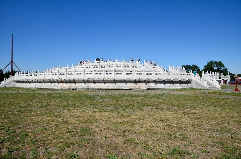 皇帝が儀式を行った「圜丘壇」