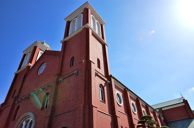 煉瓦造りの美しい教会