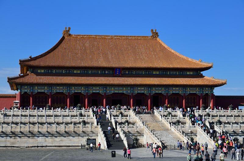 現存する中国最大の木造建築「太和殿」