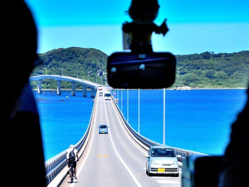 角島大橋は爽快ドライブコース!