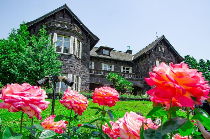 """「旧古河庭園」は""""バラの名所""""だった!東京都内で楽しむ花と洋館の美しき競演!"""