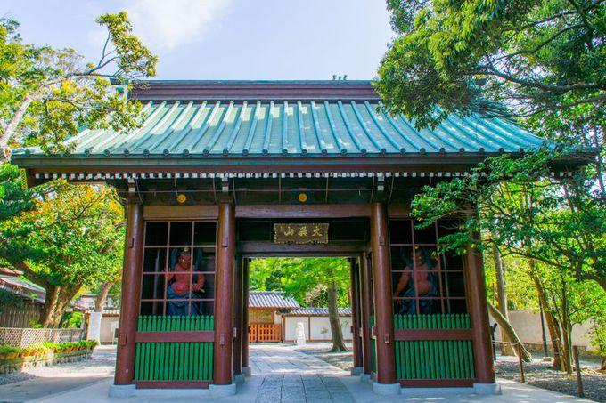 2体の仁王像は必見!鎌倉・高徳院の「仁王門」