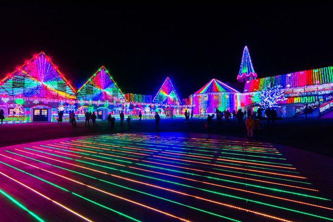 「東京ドイツ村」のイルミネーションが凄い!関東屈指の冬のナイトスポット!