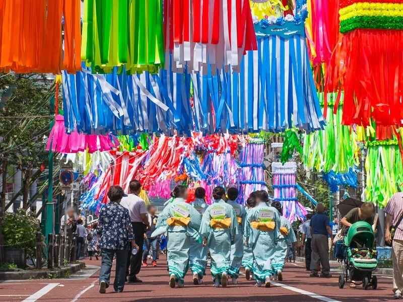 平塚市内に3000本!豪華絢爛「七夕飾り」