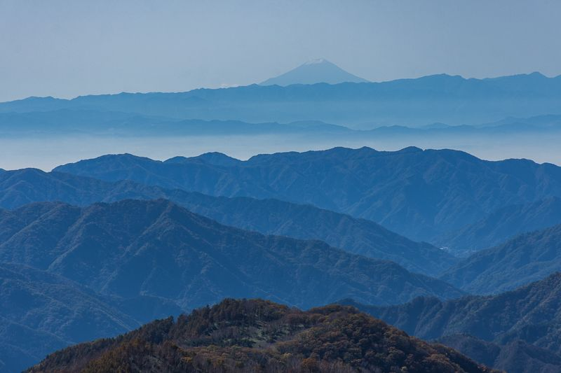 半月山展望台からの絶景!紅葉の中禅寺湖
