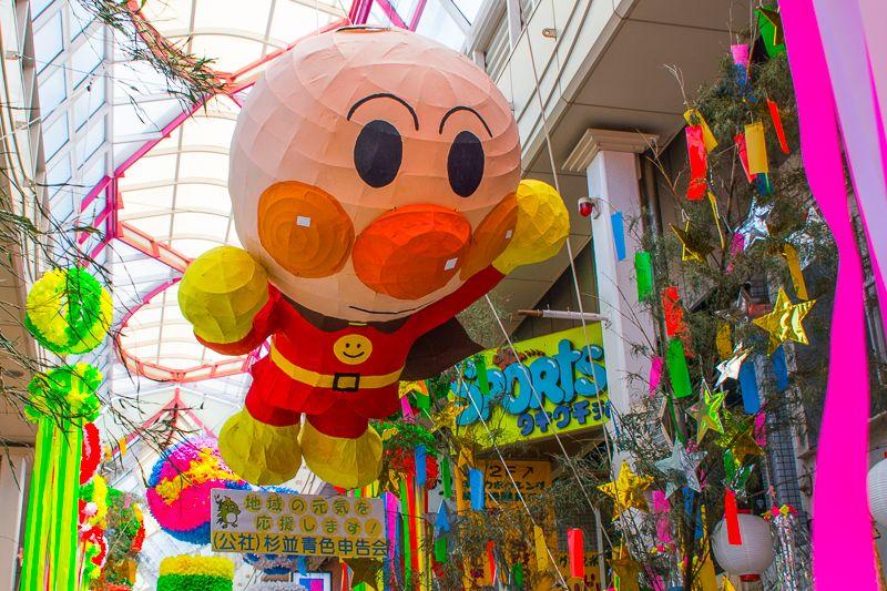 「阿佐谷七夕まつり」はインスタ映え!東京都内有数の人気夏祭り