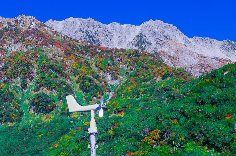 「黒部平駅」から眺めるタンボ平の紅葉!