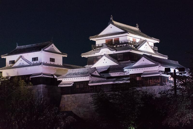 松山城天守の様々な楽しみ方