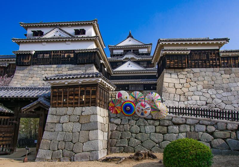 四国屈指の名城「松山城」