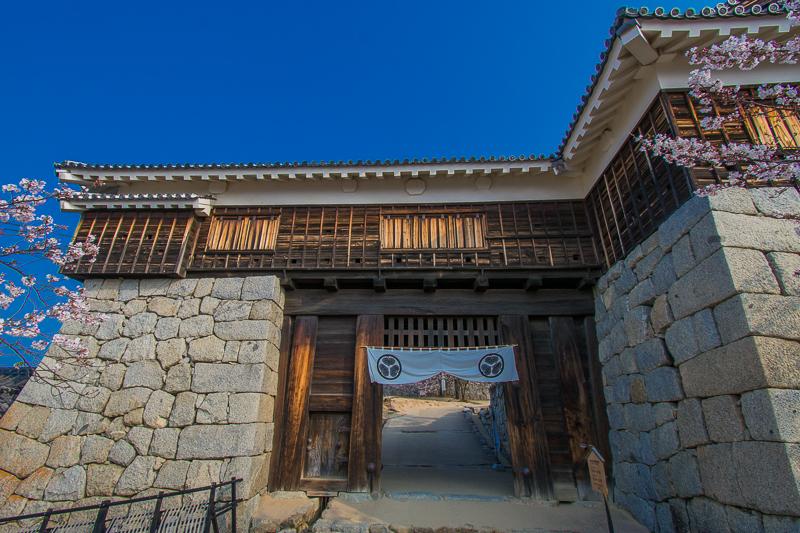 天守だけじゃない!松山城の歴史的建造物