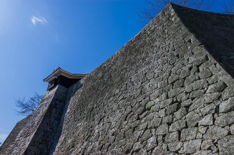 松山城は「石垣」も必見!