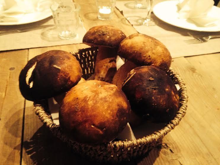 美味しい手料理がアグリツーリズモの最上の楽しみ