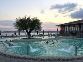 古代ローマ最初の温泉保養地!北イタリア・ガルダ湖シルミオーネ&スパ