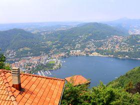 コモ湖を一望!北イタリアの街ブルナーテで絶景ウォーキング