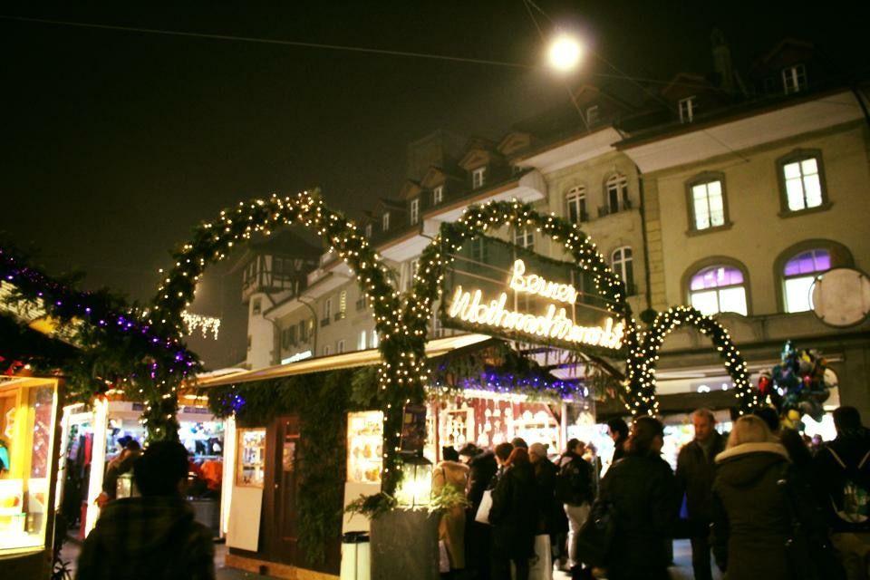 クリスマス一色に染まるベルンの12月