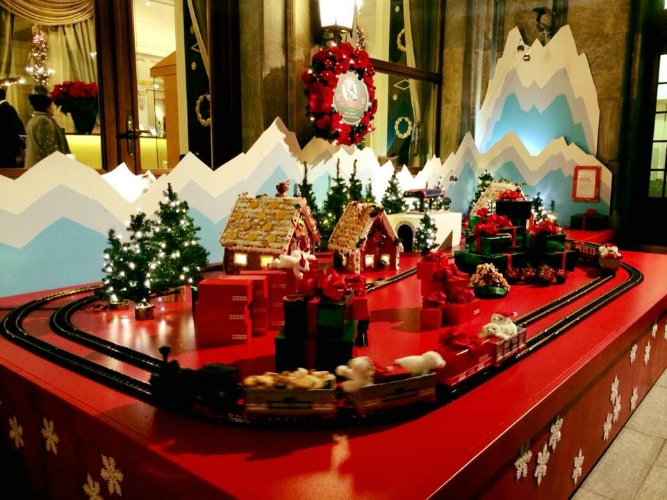 街じゅうがクリスマスムードに包まれる