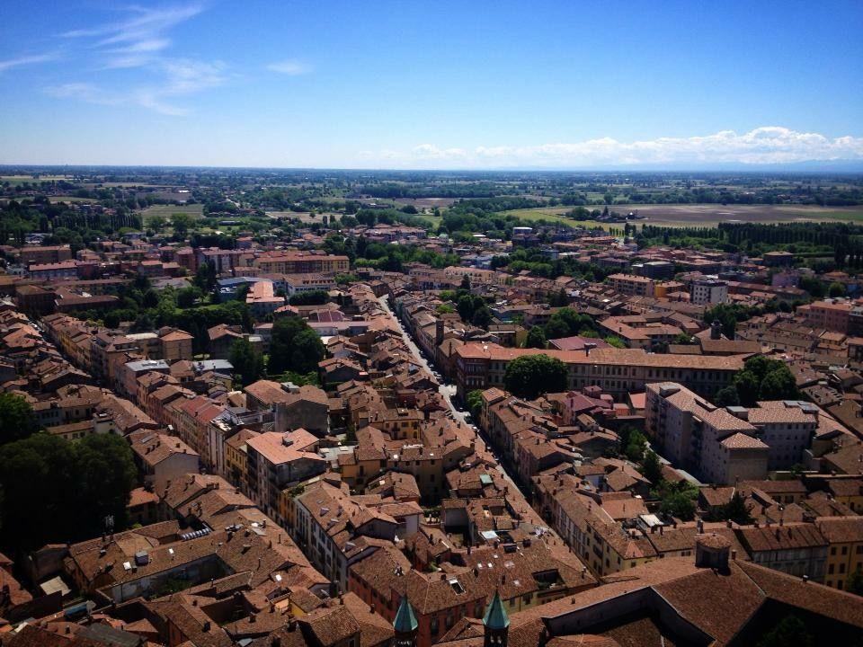 トッラッツォの塔から眺めるクレモナの街並み