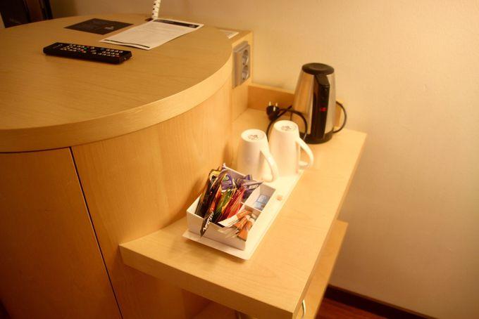 防音対策は完璧!静かで寛げる客室
