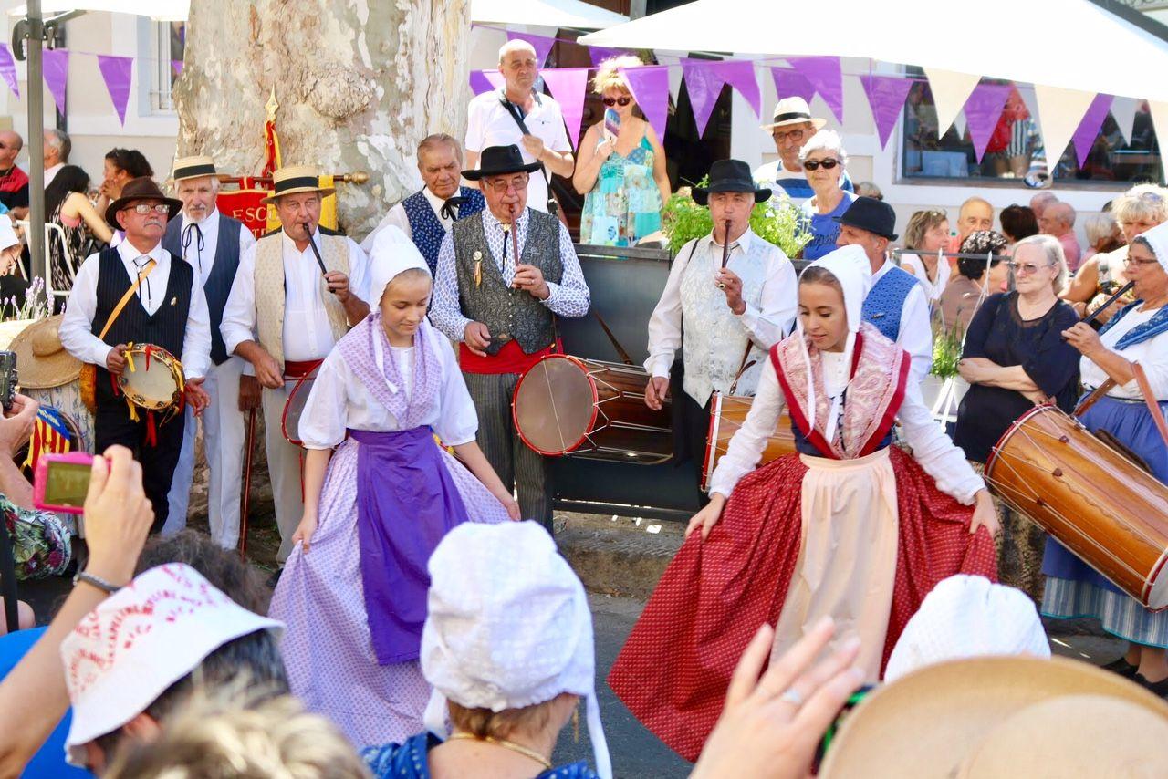 ヴァロンソルの村のラベンダー祭へ
