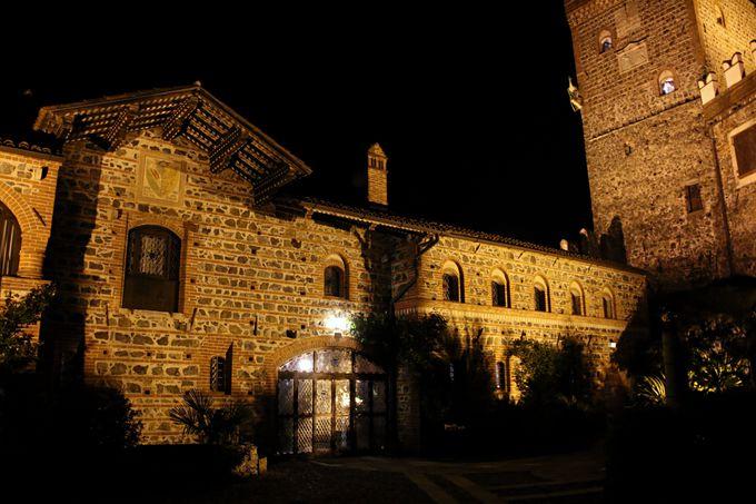 「カステロ・ディ・パボノ・ホテル」の建造はなんと9世紀!