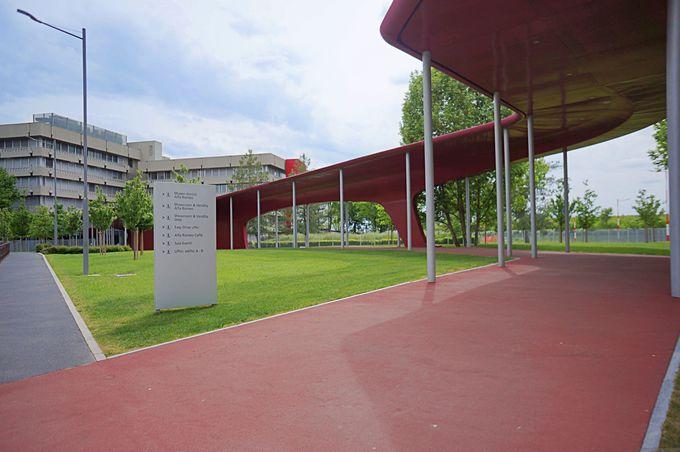 アルファロメオゆかりの地にある歴史博物館