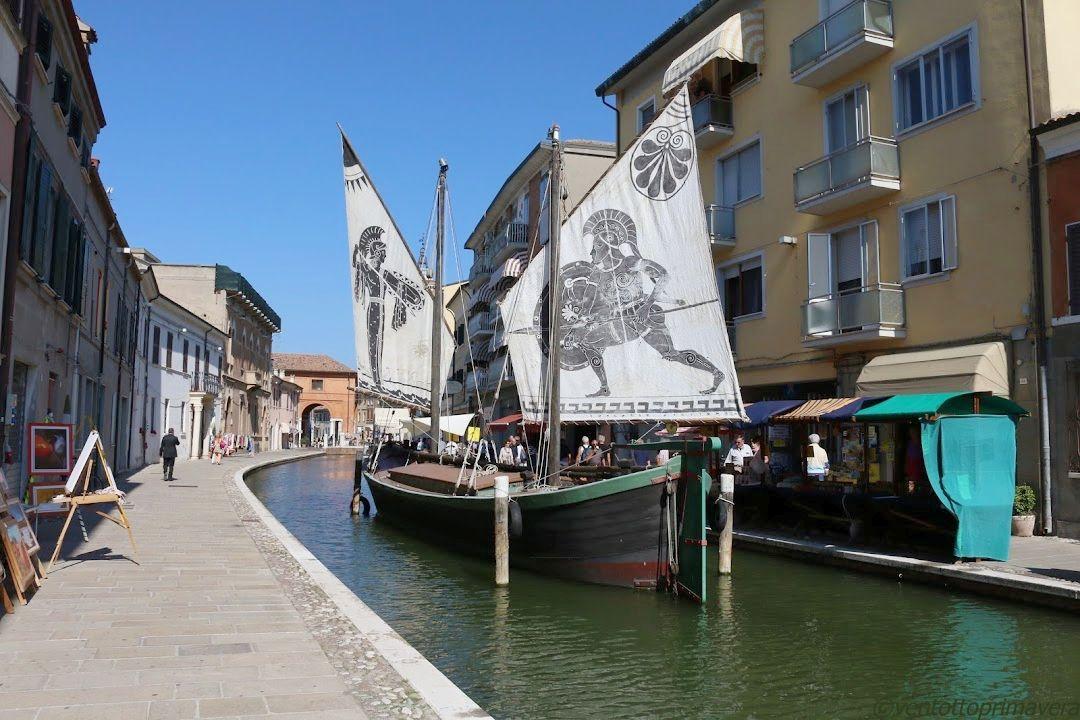 歴史ある水路の街・コマッキオ