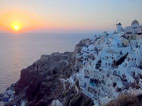 憧れのエーゲ海へ!サントリーニ島王道観光1日モデルコース